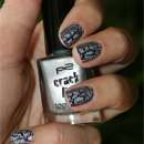 p2 crackling top coat, Farbe: 020 silver blast
