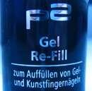 p2 gel re-fill (zum Auffüllen von Gel- und Kunstfingernägeln)