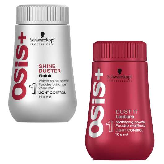 Schwarzkopf Professional OSiS Dust It & OSiS Shine Duster