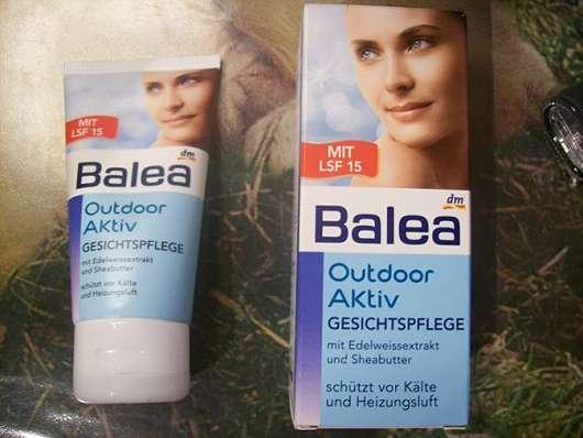 Balea Outdoor Aktiv Gesichtspflege – schützt vor Kälte und Heizungsluft