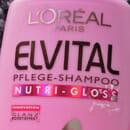 L'Oréal Paris Elvital Pflege-Shampoo Nutri – Gloss (für längeres, stumpfes Haar)