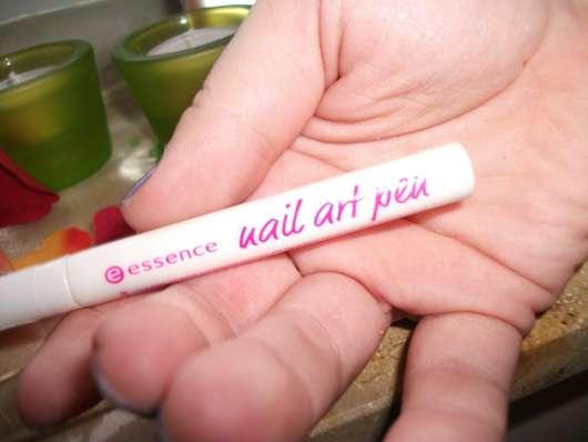 essence nail art pen, Farbe: 06 silver white