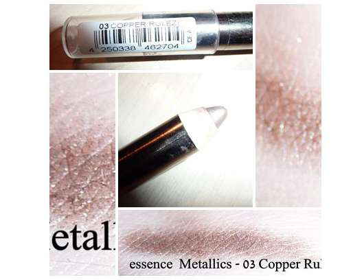 essence metallics jumbo eye pencil, Farbe: 03 copper rulez
