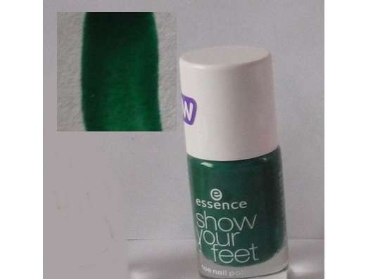 <strong>essence show your feet</strong> toe nail polish - Farbe: 10 into the jungle