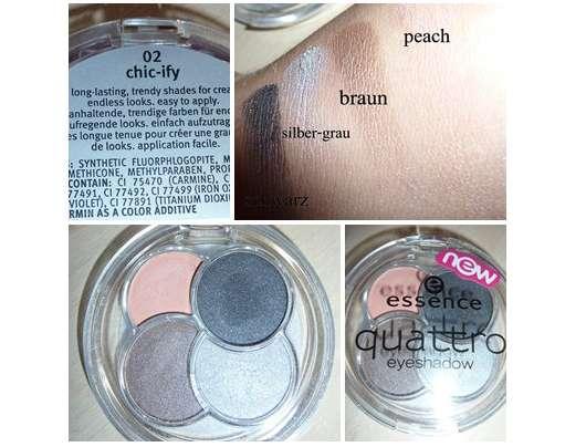 essence quattro eyeshadow, Farbe: 02 chic-ify