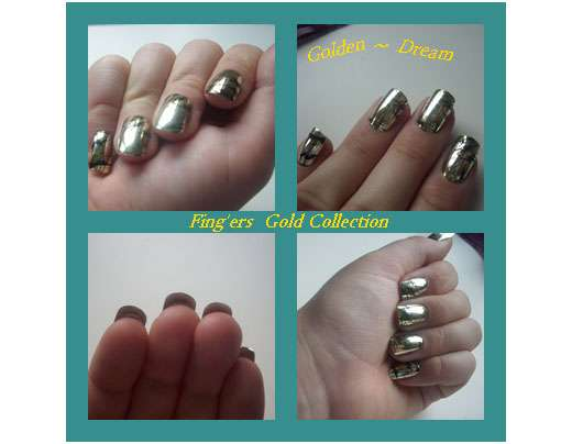FING'RS Gold Collection Designer Nägel (Limited Edition)