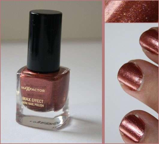 Max Factor Max Effect Mini Nailpolish, Farbe: 03 Red Bronze