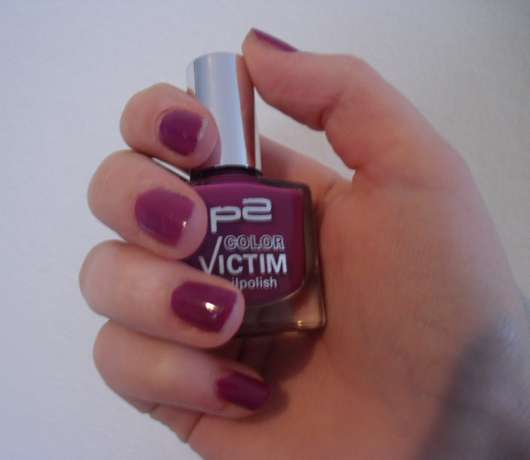 p2 color victim nailpolish, Farbe: 011 be wild!