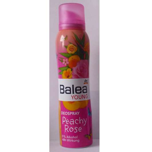 Balea Young Deospray Peachy Rose