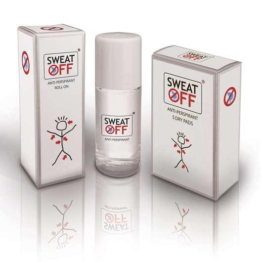 SWEAT-OFF® Anti-Perspirant ROLL-ON