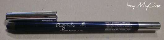 agnès b. Metallic Eyeliner, Farbe: Bleu reflet nuit (bzw. Nachtreflex-Blau)