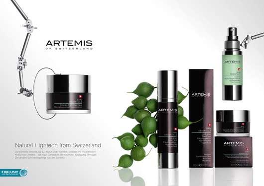 ARTEMIS of Switzerland – neue Gesichtspflege vereint Technologie und Natur