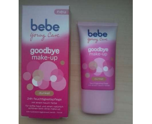 bebe Young Care goodbye make-up 24h feuchtigkeitspflege, Farbe: dunkel