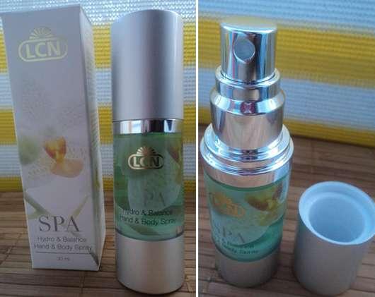 LCN SPA Hydro & Balance Hand & Body Spray