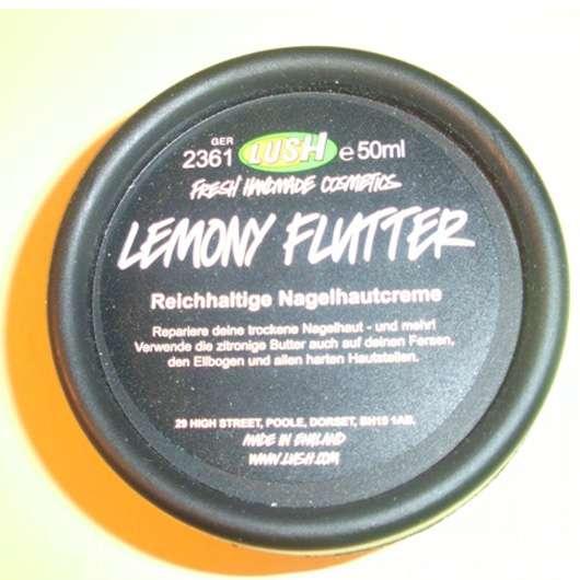 LUSH Lemony Flutter (reichhaltige Nagelhautcreme)