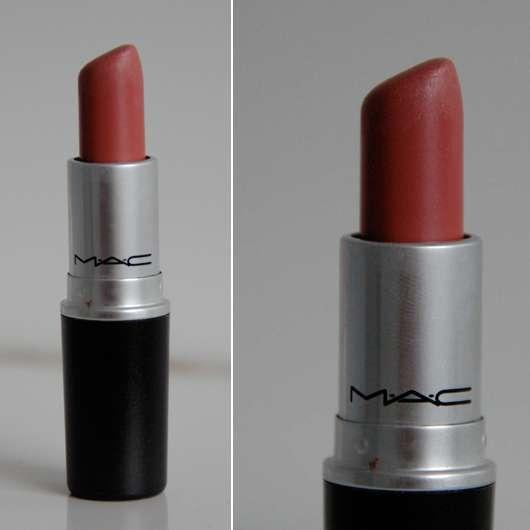 M.A.C. Lipstick, Farbe: Brave Ac