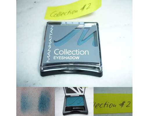 Manhattan Collection #2 Eyeshadow, Farbe: 3 Petrol Mystery