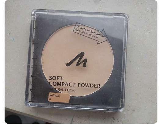 Manhattan Soft Compact Powder (Natural Look), Farbe: 8 Vanille