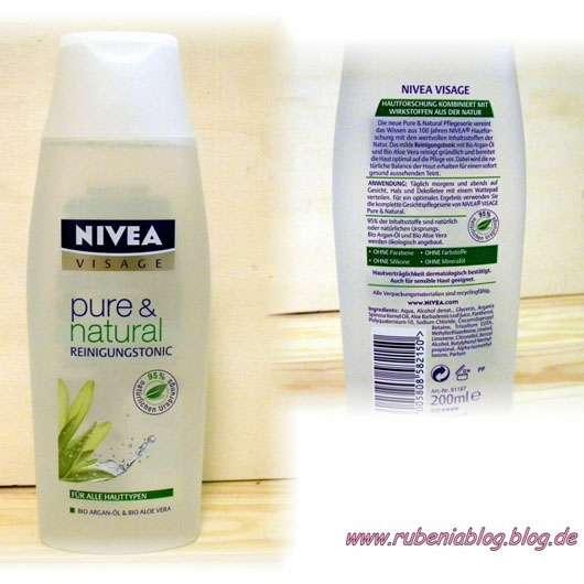 Nivea Visage pure & natural Reinigungstonic