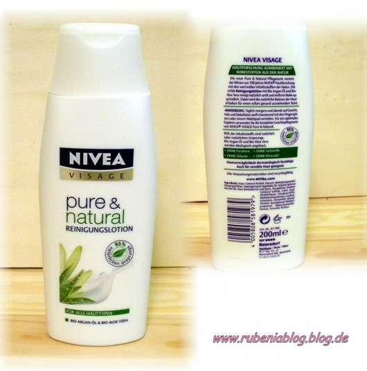Nivea Visage pure & natural Reinigungslotion