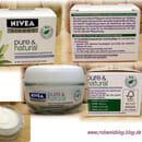 Nivea Visage pure & natural Feuchtigkeitsspendende Gesichtspflege