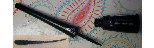 p2 dip eyeliner waterproof, Farbe: 010 black scandal