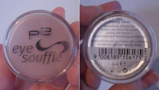 p2 eye soufflé, Farbe: 060 dreamy cream