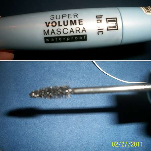 <strong>basic</strong> Super Volume Mascara Waterproof - Farbe: Black