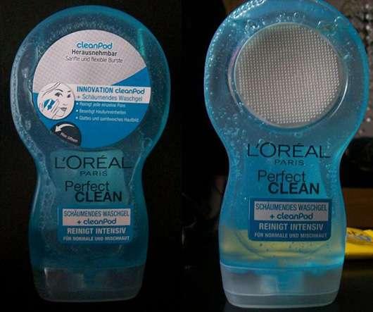 L'Oréal Paris Perfect Clean Schäumendes Waschgel + cleanPod (für normale & Mischhaut)