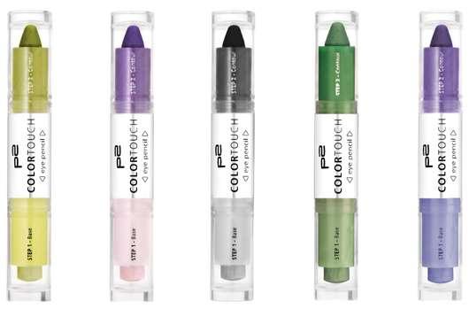 p2 cosmetics Neuheiten für die Augen
