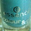essence colour & go quick drying nail polish, Farbe: 25 glisten up!