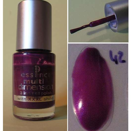 essence multi dimension 3 in 1 nail polish, Farbe: 42 dress to party