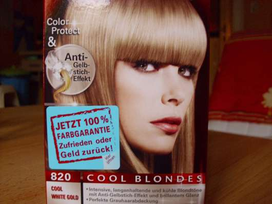 Schwarzkopf Poly Brillance Coloration, Farbe: 820 Cool White Gold