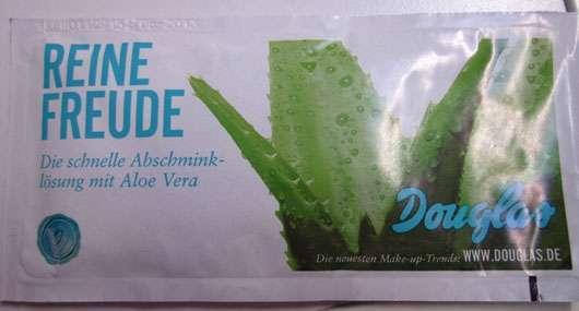 """Douglas """"Reine Frische"""" Abschminktücher mit Aloe Vera"""
