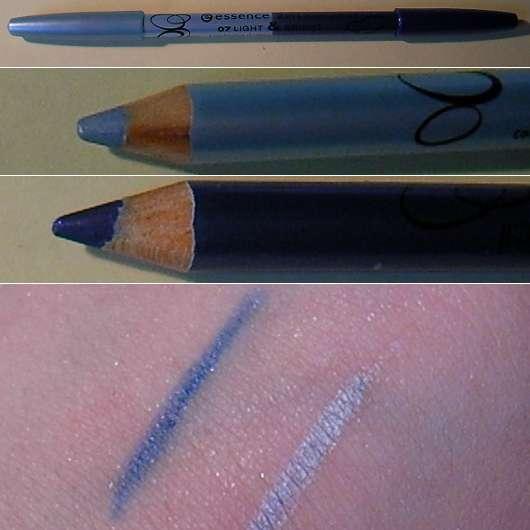 essence 2in1 kajal pencil, Farbe: 07 light & bride