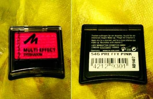 Manhattan Multi Effect Eyeshadow, Farbe: 54G Pretty Pink