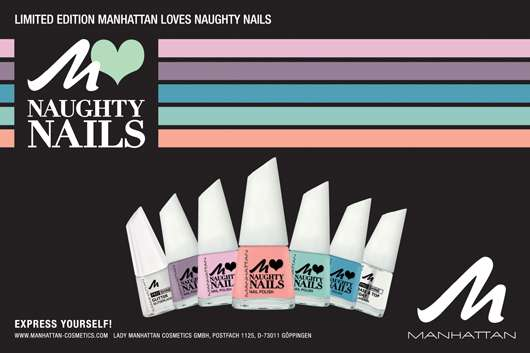"DIE LIMITED EDITION ""MANHATTAN LOVES NAUGHTY NAILS"" VON MANHATTAN"