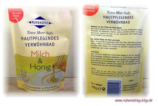 <strong>Murnauers</strong> Totes Meer Salz Hautpflegendes Verwöhnbad Milch & Honig