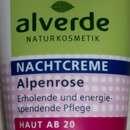alverde Nachtcreme Alpenrose – Haut ab 20
