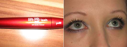 p2 lift-up lash mascara mit caviar extract, Farbe: 010 all black
