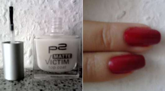 p2 matte victim top coat