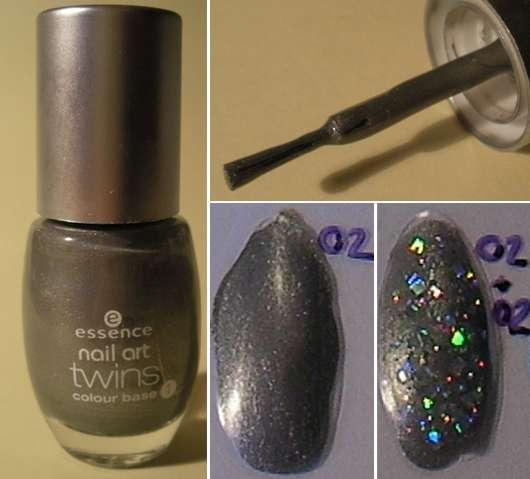 essence nail art twins, Farbe: 02 Romeo (Colour Base)