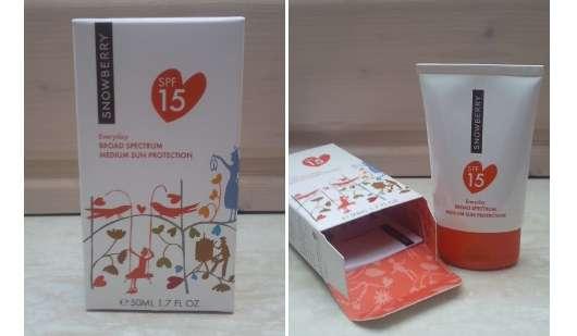 Snowberry Everyday SPF 15 – Sonnenschutzprodukt fürs Gesicht