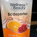Wellness & Beauty Badeperlen Orange & Granatapfel