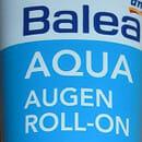 Balea Aqua Augen Roll-on mit Blaualgenextrakt (für feuchtigkeitsarme Haut)