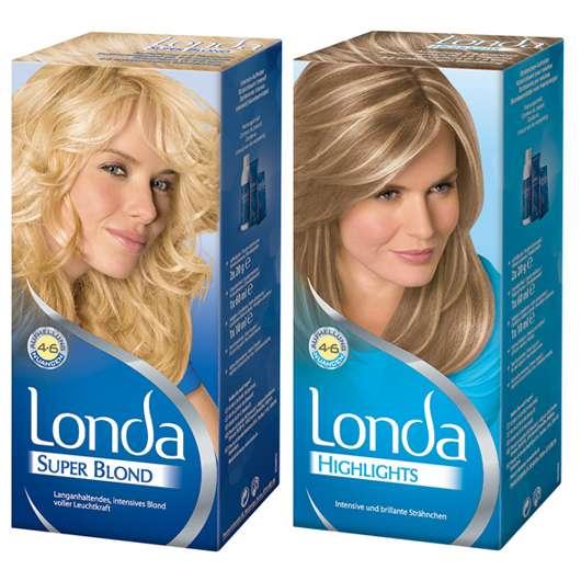 Intensiv leuchtendes Blond von Londa