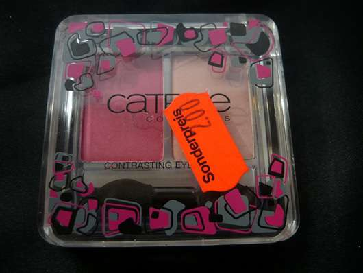 Catrice Expect The Unexpected Eyeshadow Duo, Farbe: C01 Tickled Pink