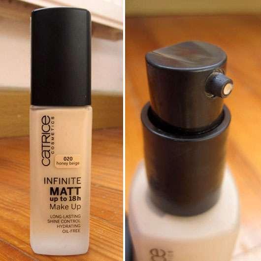 Catrice Infinite Matt up to 18h Make Up, Farbe: 020 Honey Beige