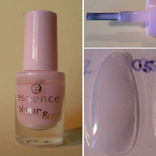 essence colour & go nail polish, Farbe: 05 sweet as candy