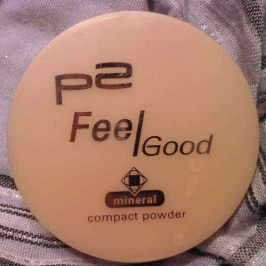 p2 feel good mineral compact powder, Farbe: 020 Ivory Shell